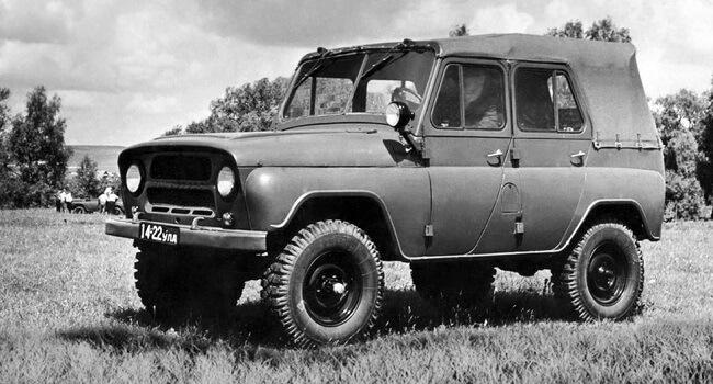 УАЗ 469 проектирование и создание