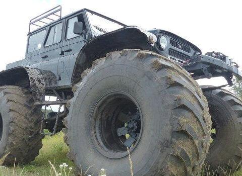 болотоходы УАЗ