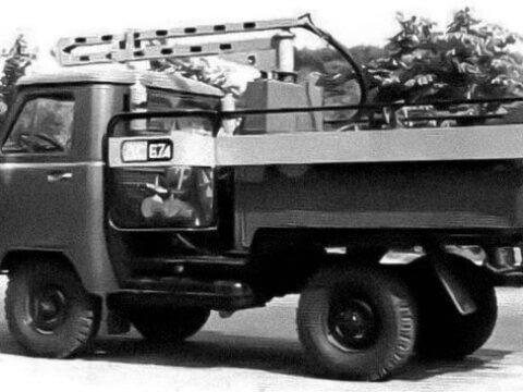 Заливщик швов УАЗ-452Д (ДС-67А)