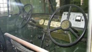 Два руля, установленные в УАЗ-469