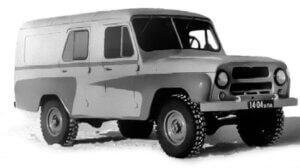 УАЗ-469П - машина для связистов из 1962 года