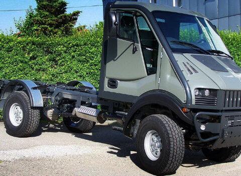 Полноприводный грузовик УАЗ-4963 (T-Rex)