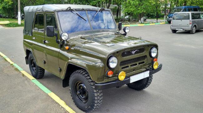 Описание и характеристики УАЗ-3151