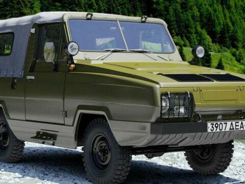 """УАЗ-3907 """"Ягуар"""" - амфибия советского происхождения"""