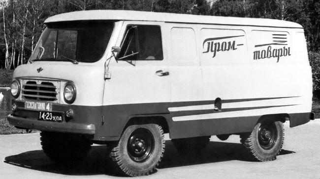 Характеристики и фото УАЗ-451