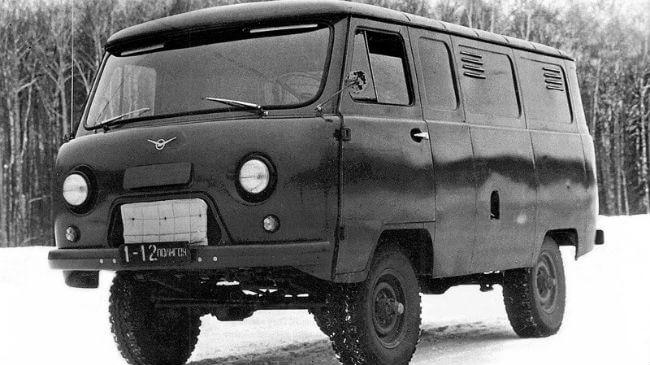 Советская «буханка» с редукторными мостами - УАЗ-468